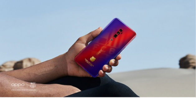 Oppo Reno 10x zoom FC Barcelona Edition стал официальным