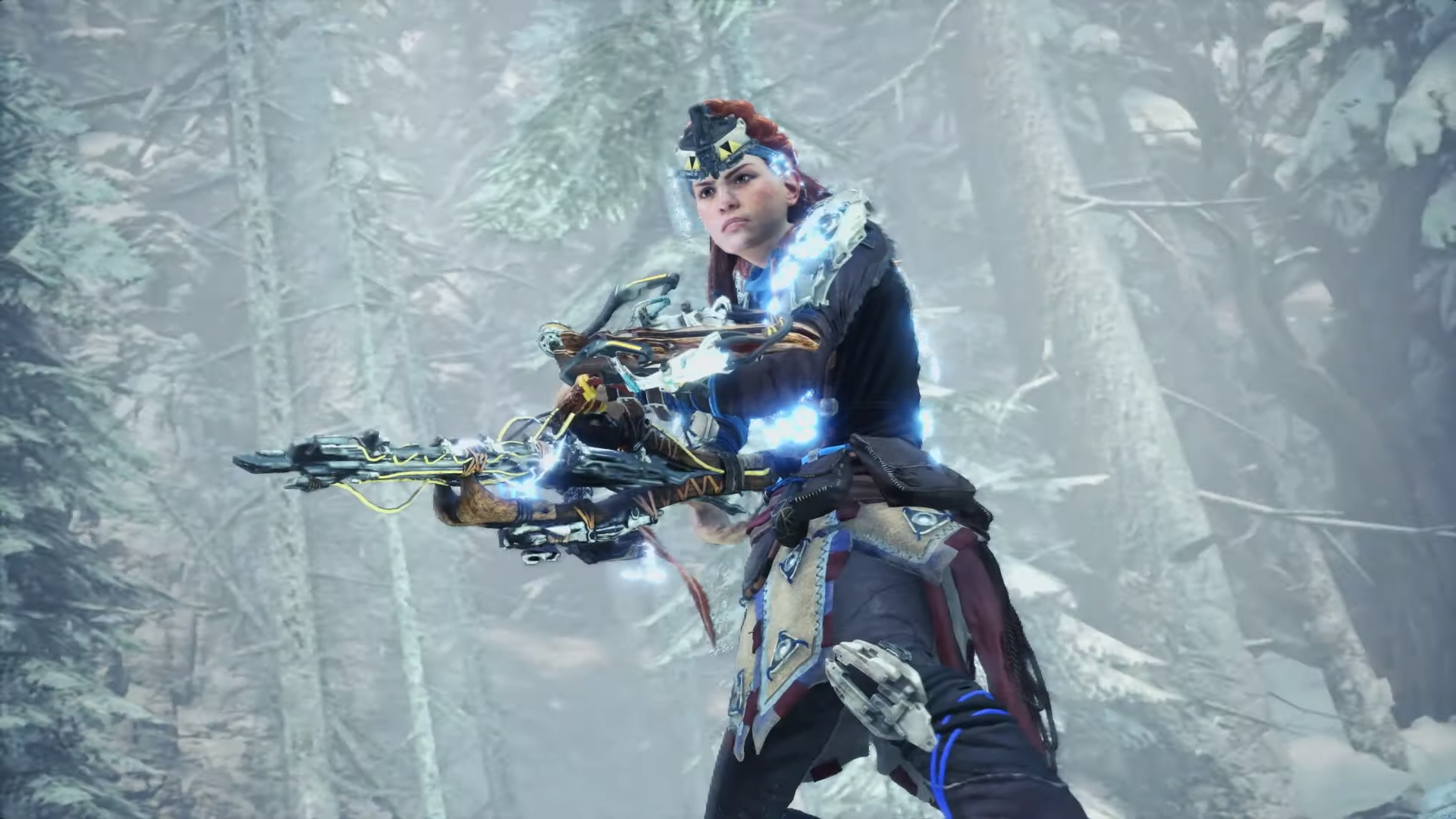 Грядёт кроссовер Monster Hunter: World — Iceborne с Horizon Zero Dawn: The Frozen Wilds