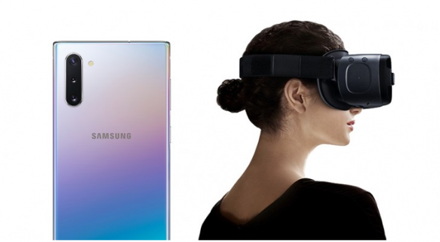 Samsung Galaxy Note10 и Note10 + не совместимы с Gear VR